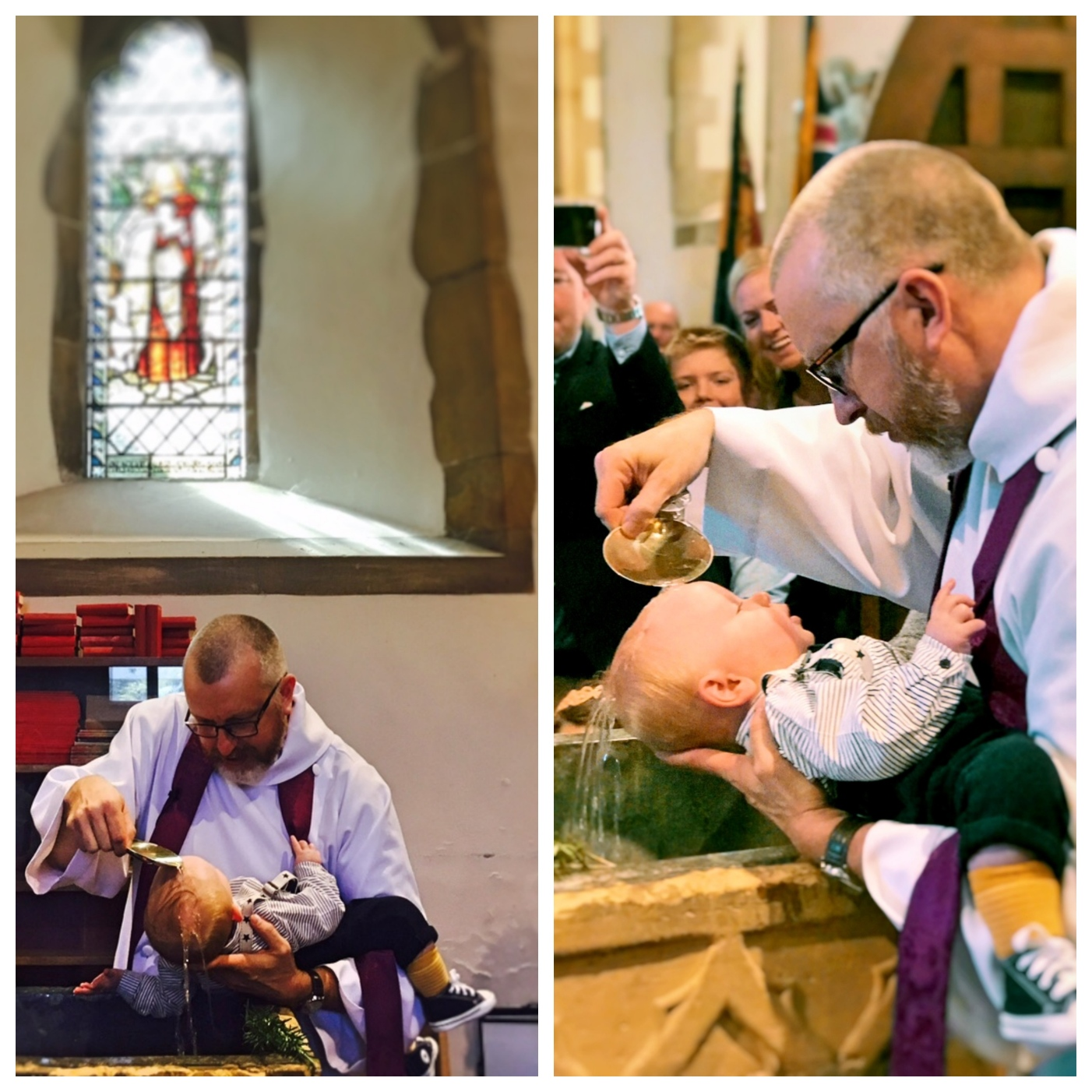 collage baptism