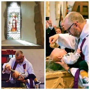 collage baptism